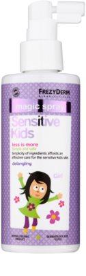 Frezyderm Sensitive Kids For Girls condicionador sem enxaguar em spray para o couro cabeludo sensível