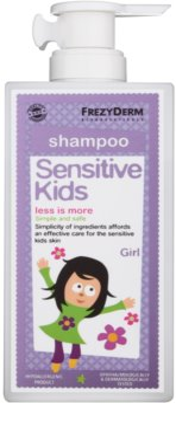 Frezyderm Sensitive Kids For Girls Shampoo für empfindliche und gereizte Kopfhaut