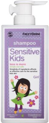 Frezyderm Sensitive Kids For Girls шампунь для чутливої та подразненої шкіри голови