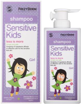 Frezyderm Sensitive Kids For Girls Shampoo für empfindliche und gereizte Kopfhaut 1