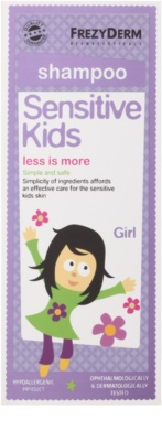 Frezyderm Sensitive Kids For Girls champú para el cuero cabelludo sensible e irritado 2