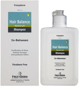Frezyderm Hair Balance sampon delicat pentru tratamente scalpului printre dermatologice 1