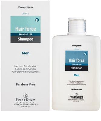 Frezyderm Hair Force posilující šampon proti vypadávání vlasů pro muže 1