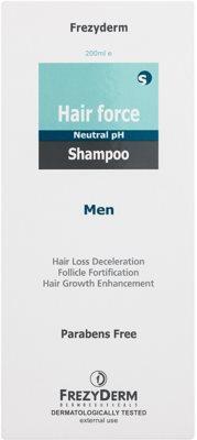 Frezyderm Hair Force posilující šampon proti vypadávání vlasů pro muže 2