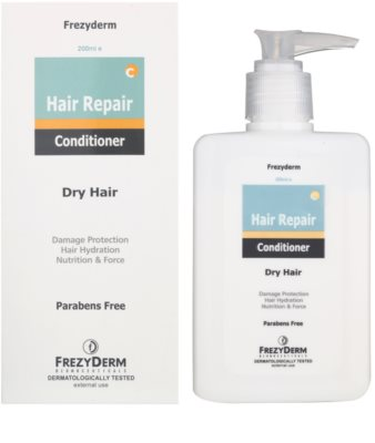 Frezyderm Hair Repair kondicionér pro suché a poškozené vlasy 1