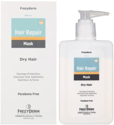 Frezyderm Hair Repair masca pentru hidratare intensiva pentru par uscat si deteriorat 1