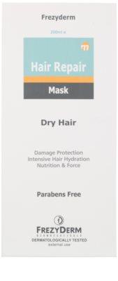 Frezyderm Hair Repair masca pentru hidratare intensiva pentru par uscat si deteriorat 2