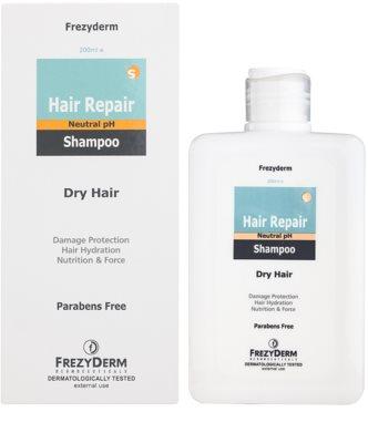 Frezyderm Hair Repair шампоан за суха и увредена коса 1
