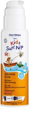 Frezyderm Kids ochranný krém na opalování s repelentním účinkem pro děti SPF 50+ 1