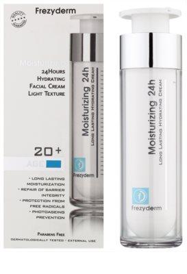 Frezyderm Moisturizing crema hidratanta usoara 20+ 1