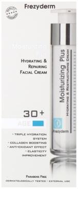 Frezyderm Moisturizing Plus crema hidratante regeneradora para rostro 30+ 2