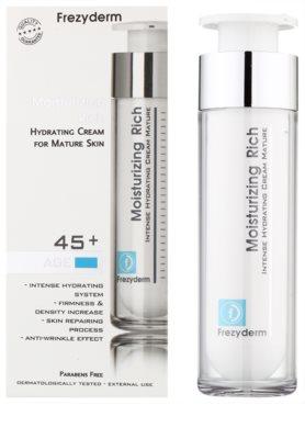 Frezyderm Moisturizing Rich hydratačný krém s protivráskovým účinkom 45+ 1