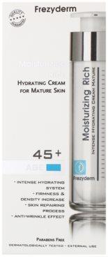 Frezyderm Moisturizing Rich hydratačný krém s protivráskovým účinkom 45+ 2