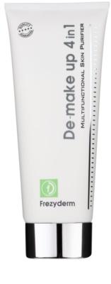 Frezyderm Oily Skin leche limpiadora para rostro y cuello 4 en 1