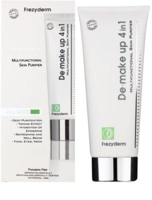 Frezyderm Oily Skin leche limpiadora para rostro y cuello 4 en 1 1