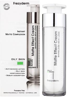 Frezyderm Oily Skin hydratační krém s matujícím efektem 1