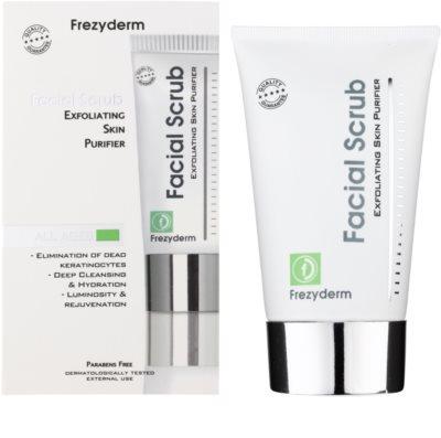 Frezyderm Oily Skin gel exfoliant de curatare 1