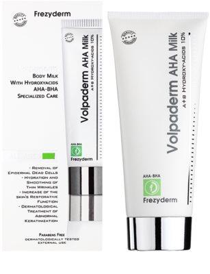 Frezyderm Oily Skin Volpaderm telové mlieko s A.H.A. (Alpha Hydroxy acids) 1
