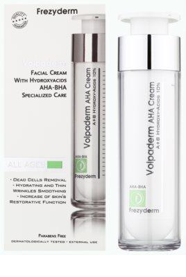 Frezyderm Oily Skin Volpaderm crema de noapte pentru fata Cu A.H.A. (Acizi Alfa Hidroxilici) 1