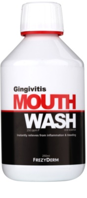 Frezyderm Oral Science Gingivitis apa de gura cu efect protector impotriva imflamatiilor si a sangerarii gingiilor