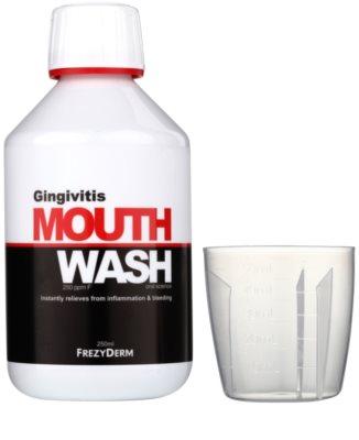 Frezyderm Oral Science Gingivitis płyn do płukania jamy ustnej przeciw stanom zapalnym i krwawieniu dziąseł 1