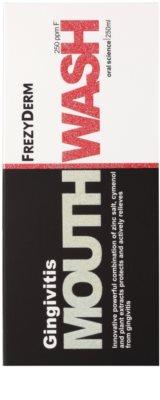 Frezyderm Oral Science Gingivitis вода за уста против възпаление и кървене на венци 3
