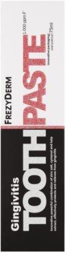 Frezyderm Oral Science Gingivitis зубна паста проти запалення та кровоточивості ясен 2