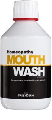 Frezyderm Oral Science Homeopathy ústní voda pro kompletní ochranu zubů bez fluoridu