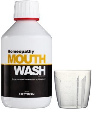 Frezyderm Oral Science Homeopathy ústní voda pro kompletní ochranu zubů bez fluoridu 1