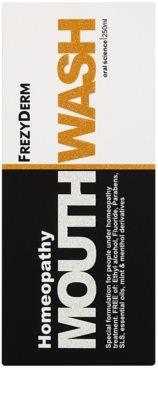 Frezyderm Oral Science Homeopathy enjuague bucal para una protección completa de dientes sin flúor 3