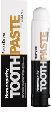 Frezyderm Oral Science Homeopathy zobna pasta za popolno zaščito zob brez fluorida 1