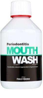 Frezyderm Oral Science Periodontitis ústní voda pro regeneraci dásní