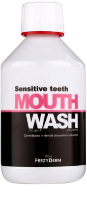 Frezyderm Oral Science Sensitive Teeth płyn do płukania jamy ustnej dla pełnej ochrony zębów