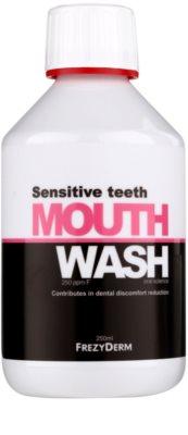 Frezyderm Oral Science Sensitive Teeth szájvíz a fogak komplett védelméért