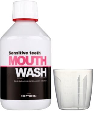 Frezyderm Oral Science Sensitive Teeth Mundwasser für den vollständigen Schutz der Zähne 1