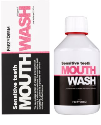 Frezyderm Oral Science Sensitive Teeth elixir para a proteção completa dos dentes 2