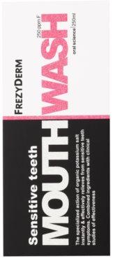 Frezyderm Oral Science Sensitive Teeth Mundwasser für den vollständigen Schutz der Zähne 3