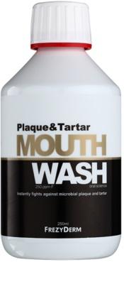 Frezyderm Oral Science Plaque & Tartar рідина для полоскання ротової порожнини для комплексного захисту зубів