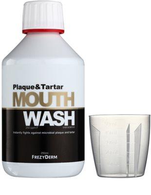 Frezyderm Oral Science Plaque & Tartar ústní voda pro kompletní ochranu zubů 1