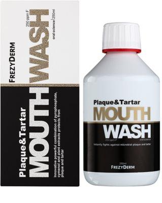 Frezyderm Oral Science Plaque & Tartar ústní voda pro kompletní ochranu zubů 2