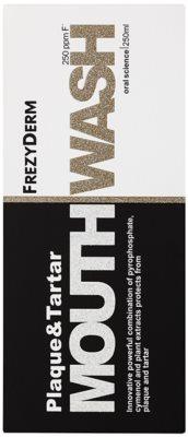 Frezyderm Oral Science Plaque & Tartar ústní voda pro kompletní ochranu zubů 3