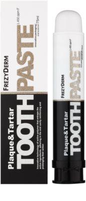 Frezyderm Oral Science Plaque & Tartar dentrífico para proteção total dos dentes 1
