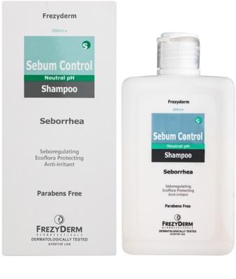 Frezyderm Sebum Control šampon pro nadměrně se mastící pokožku hlavy 1