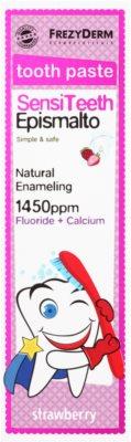 Frezyderm SensiTeeth Epismalto зубна паста для дітей з ароматом полуниці 2