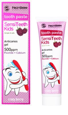 Frezyderm SensiTeeth Kids Zahnpasta für Kinder mit dem Aroma von Waldfrüchten 1