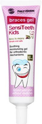 Frezyderm SensiTeeth Kids nyugtató gél az ínyre fogszabályozó használatához