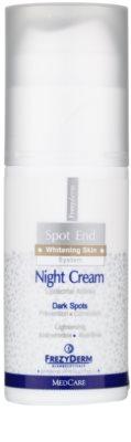 Frezyderm Spot End creme de noite iluminador anti-manchas de pigmentação