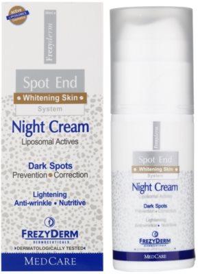 Frezyderm Spot End aufhellende Nachtcreme gegen Pigmentflecken 2