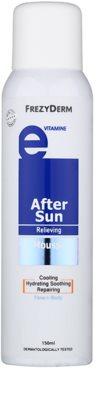 Frezyderm Sun Care espuma after sun para rostro y cuerpo con vitamina E