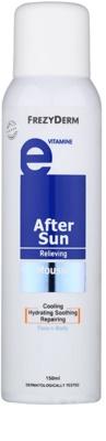 Frezyderm Sun Care Mousse after-sun para o corpo e rosto com vitamina E